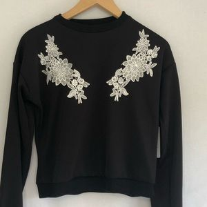 NWT Misguided embellished sweatshirt
